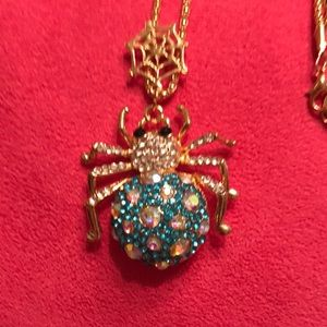 Spider Necklace